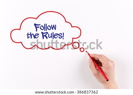 essay on following rules