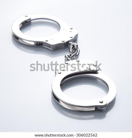Handcuff  - stock photo