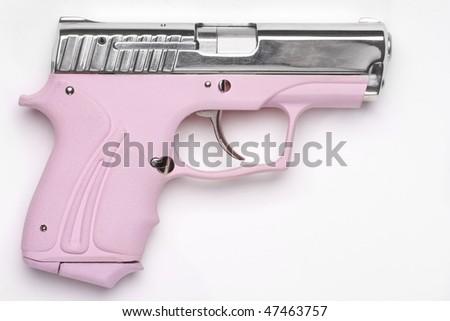 handgun - stock photo