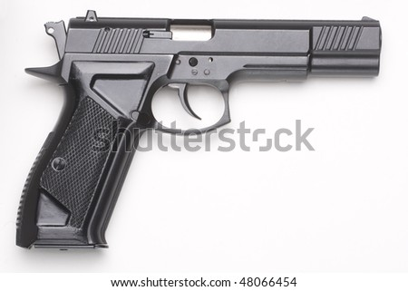 handgun - stock photo