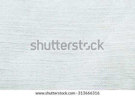handicraft cotton textile texture close up - stock photo