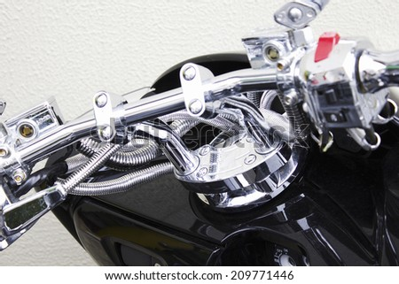 Handle of the Motorcycle