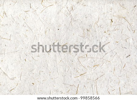 Handmade japan rice paper horizontal backgrounds, scan texture - stock photo