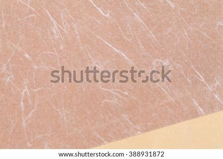 Handmade Japanese rice paper, texture background  - stock photo