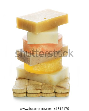 Handmade Soap - stock photo