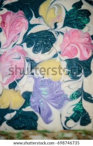 Handmade Soap Bath Spa Accessories Dried Stock Photo 698746735 ...