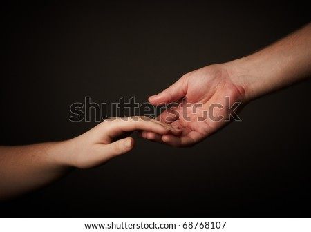 hands - stock photo