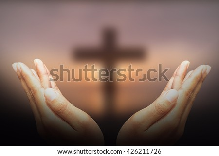 Hands, bless the cross in the sky.