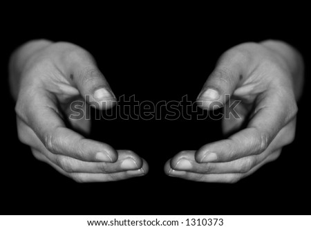Hands from a woman.