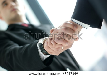 Handshake - stock photo