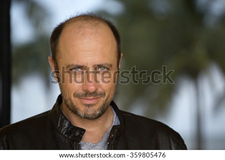 Handsome forty years old man  - stock photo