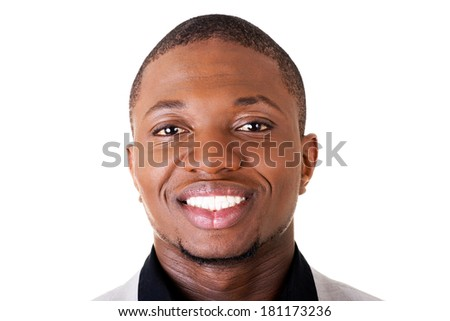 Handsome male businessman - stock photo