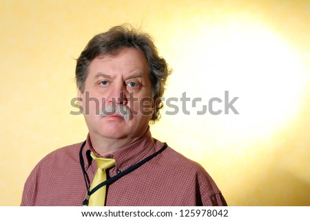 Handsome middle age business man - stock photo