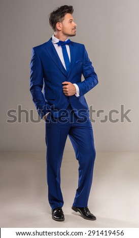 Blue Suit Stock Images, Royalty-Free Images & Vectors | Shutterstock
