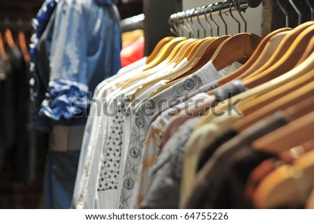 hanged Clothes - stock photo