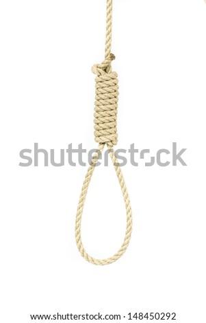 Hanging noose - stock photo