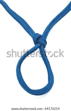 hanging noose rope - stock photo