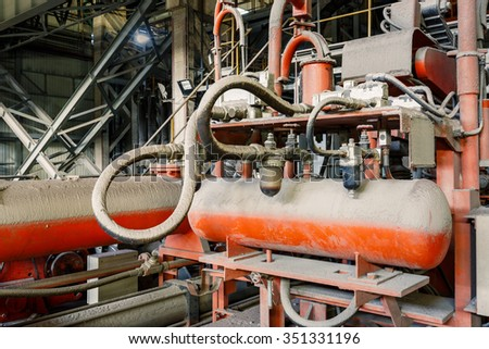 Carrot Processing Plant Product Washed Before Stock Photo ...