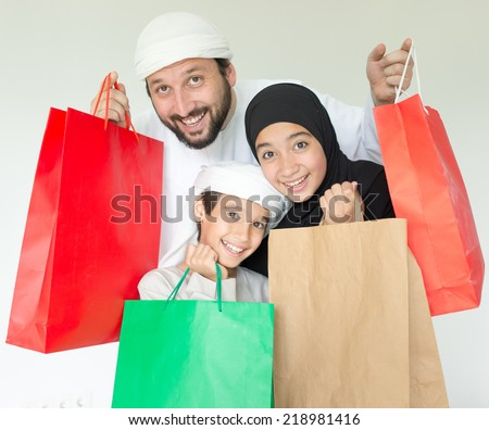 Arab Family Shopping Stock Images, Royalty-Free Images & Vectors ...