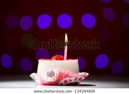 Birthday Cake Shot Images ~ Happy birthday cake shot on red stock photo  shutterstock