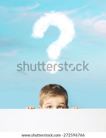 Happy boy - stock photo