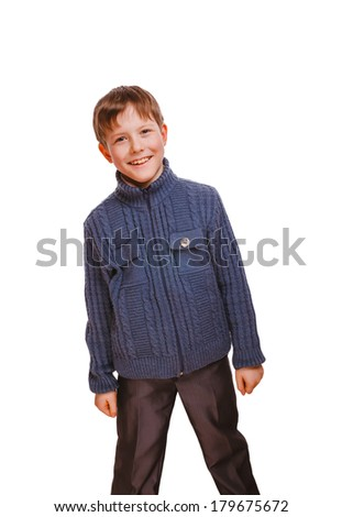 happy boy smiling cheerful childhood, carefree  smiling boy current emotion isolated on white background