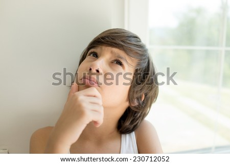 Happy children portraits - stock photo