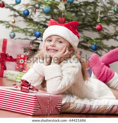 Happy Christmas - stock photo