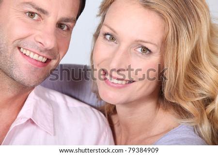 Happy couple. - stock photo
