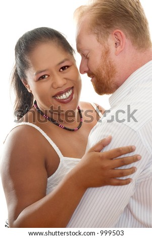 Happy Couple - Interracial relationships