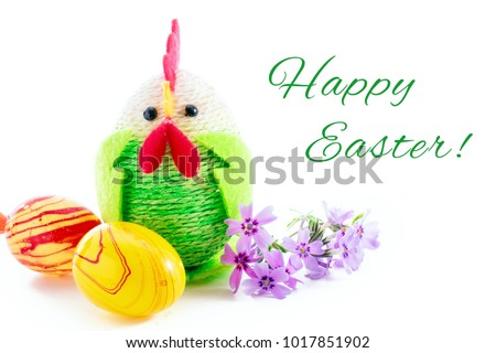 happy easter colorful easter chick eggs stock photo royalty free