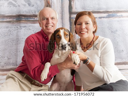 Happy family - stock photo