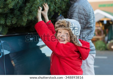 christmas tree car stock images royalty free images vectors shutterstock. Black Bedroom Furniture Sets. Home Design Ideas
