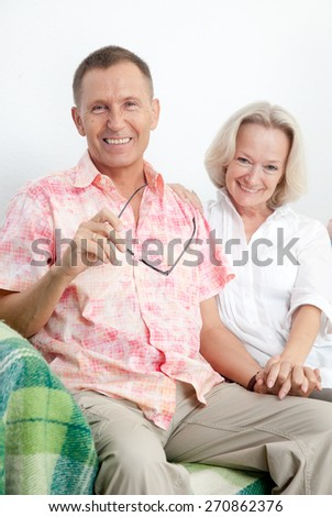Happy family express love and unity - stock photo