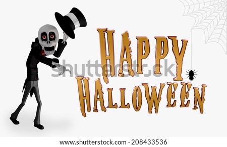 Happy Halloween - stock photo
