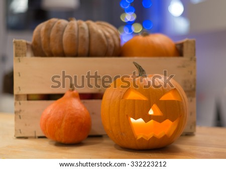 Happy Halloween ! - stock photo