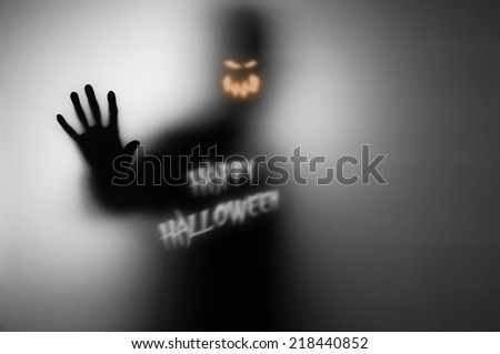 Happy Halloween Saying Ghost. This Is My Image Already But I Retouched It  For Halloween