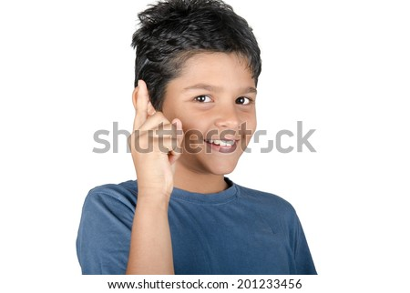 happy kid - stock photo