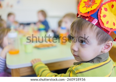 Happy kids together - stock photo