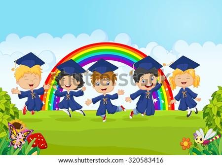 Kid Graduation Stock Photos, Images, & Pictures   Shutterstock  Kid Graduation ...