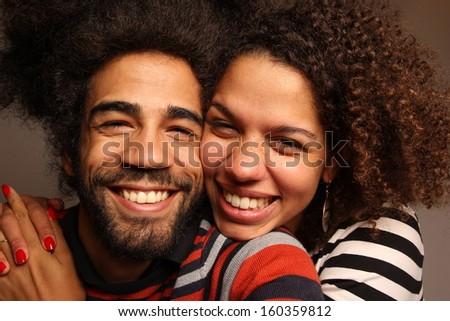 Happy love couple - stock photo