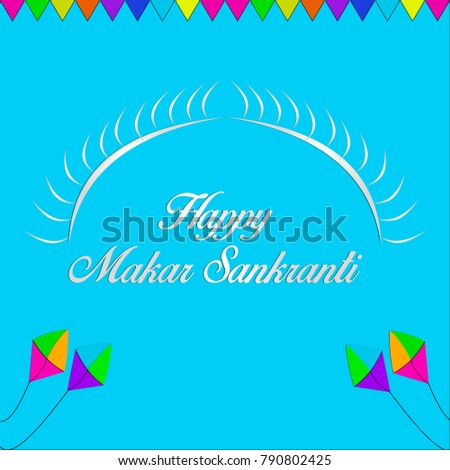 Happy makar sankranti greetings sun stock illustration 790802425 happy makar sankranti greetings with sun m4hsunfo