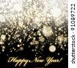 Happy New Year ! - stock vector