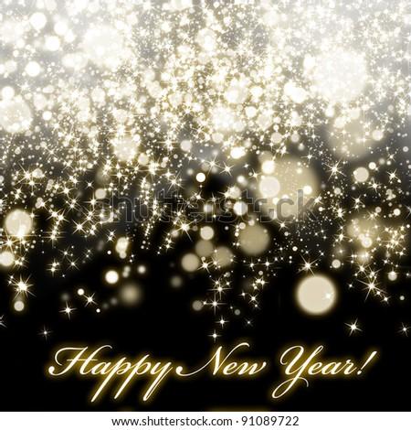 Happy New Year ! - stock photo