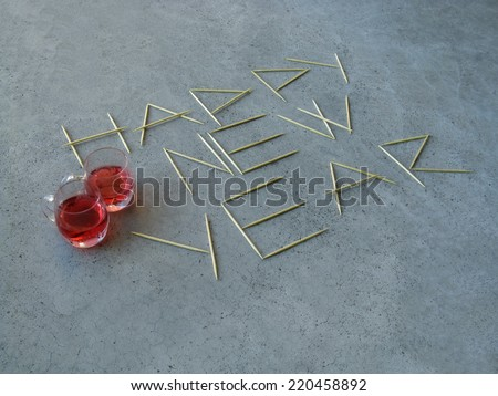 happy new year, cheers - stock photo