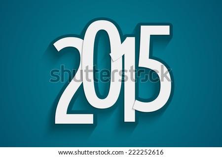 happy new year 2015 concept,  - stock photo
