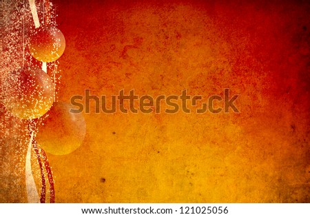 Happy New Year greeting card - stock photo