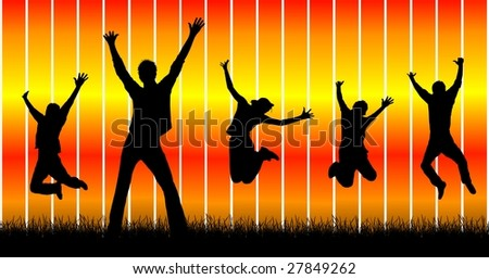 happy people 1 - stock photo