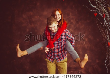 happy smiling people  spend time together - stock photo