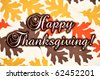 Happy Thanksgiving, concept - stock vector